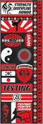 Martial Arts Stickers - Reminisce