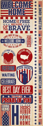 Welcome Home Vet Stickers - Reminisce