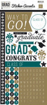 Grad Sticker Accents - Echo Park