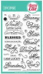 Needle Little Love Clear Stamps - Avery Elle