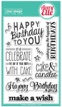Cake & Candles Clear Stamps - Avery Elle