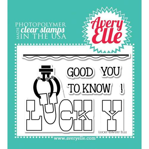 Lucky Clear Stamps - Avery Elle