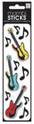 Guitar Notes Puffy Stickers - Me And My BIG Ideas