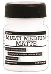 Matte Multi Medium 1oz Jar With Brush - Ranger