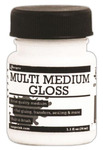 Gloss Multi Medium 1oz Jar With Brush - Ranger