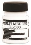 Gloss Multi Medium 1oz Jar With Brush - Ranger