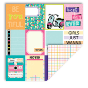 Journal Cards/Grid Paper - Girl - Queen & Co