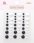Black & White Jellies - Queen & Co