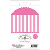 Bubblegum Stripes Treat Bags - Doodlebug