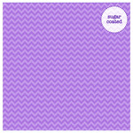 Lilac Chevron Sugar Coated Cardstock - Doodlebug