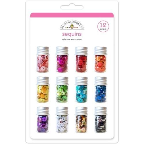 Rainbow Sequins - Doodlebug