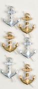 Anchors Mini Stickers - Little B