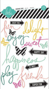 Delightful Stickers - Heidi Swapp