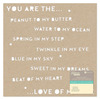 You Are Kraft Die Cut Cardstock Placemat - Jillibean Soup