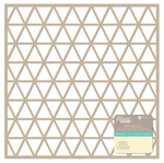 Triangles Kraft Die Cut Cardstock Placemat - Jillibean Soup