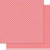 Wild Rose Polka Paper - Let's Polka - Lawn Fawn