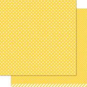Sunflower Polka Paper - Let's Polka - Lawn Fawn