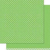 Freshly Cut Grass Polka Paper - Let's Polka - Lawn Fawn