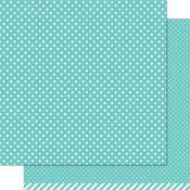 Mermaid Polka Paper - Let's Polka - Lawn Fawn