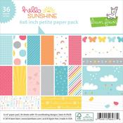 Hello Sunshine Petite 6 x 6 Paper Pack - Lawn Fawn