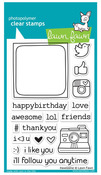 #Awesome Clear Stamps - Lawn Fawn