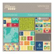 Sightseeing Stew 6 x 6 Paper Pad - Jillibean Soup