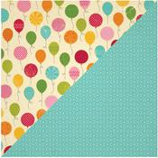 Bunch Of Balloons Paper - Birthday Bisque - Jillibean Soup