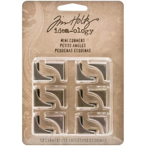 Idea - ology Mini Metal Corners - Tim Holtz
