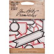 Index Label Stickers - Tim Holtz