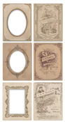 Vintage Frame Mini Cabinet Cards - Idea - ology - Tim Holtz