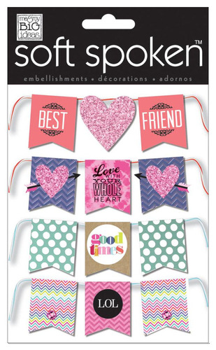 Best Friends Banner Soft Spoken - Me And My Big Ideas