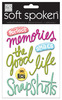Jelly Perfect Memories Soft Spoken Embellishments - Me And My Big Ideas