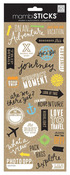 On An Adventure Doodle Words Stickers - Me And My Big Ideas