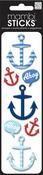 Ahoy Anchors Mambi Stickers