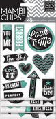Chalk Look At Me Mambi Stickers