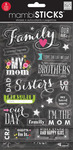 Chalk Family Mambi Stickers