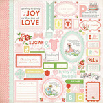 Baby Mine Girl Sticker Sheet - Carta Bella