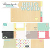 "Hello World Chipboard Book Kit 6""X9"""