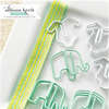 Elephants & Baby T's Paper Clips - Hello World - Websters Pages
