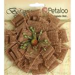 Natural Burlap Blossom Large - Petaloo