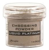 Liquid Platinum Embossing Powder - Ranger