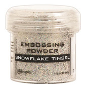 Snowflake Tinsel Embossing Powder - Ranger