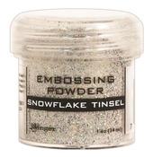 Snowflake Tinsel Embossing Powder - Ranger