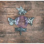 Butterfly Resin In A Wood Box - Prima