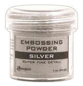 Super Fine Silver Embossing Powder - Ranger