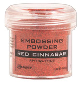 Red Cinnabar Embossing Powder - Ranger