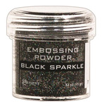 Black Sparkle Embossing Powder - Ranger