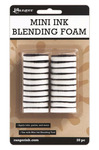 Mini Round Ink Blending Replacement Foams - Ranger