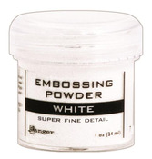 Super Fine White Embossing Powder - Tim Holtz