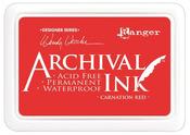 Carnation Red Designer Series Archival Ink Pad - Ranger